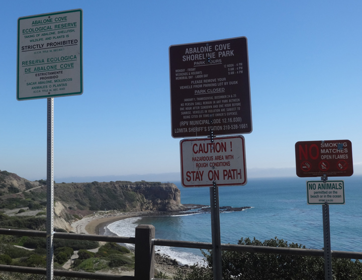 abalone-cove-signs