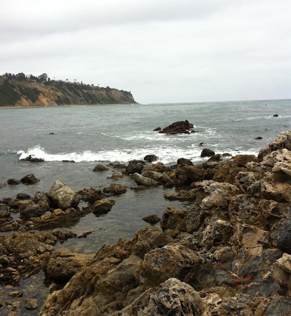 Sea level -- Palos Verdes