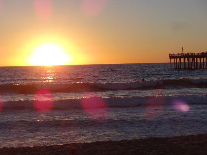 hermosa-sunset-flare-sept-28