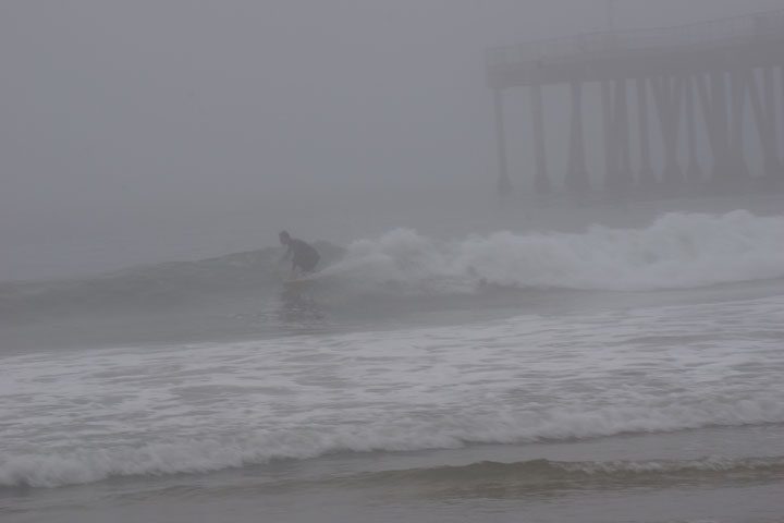 surfing-through-fog