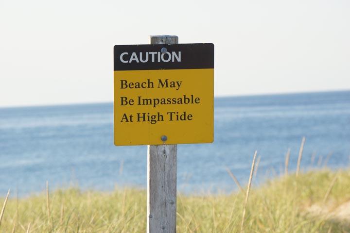 caution-beach-impassible-high-tide