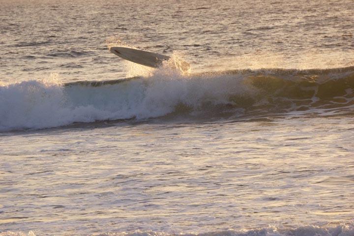 board-leash-sunset-el-porto