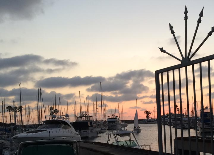 coming-home-king-harbor-sunset