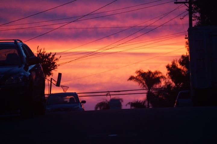 surreal-sunset-hermosa-hills