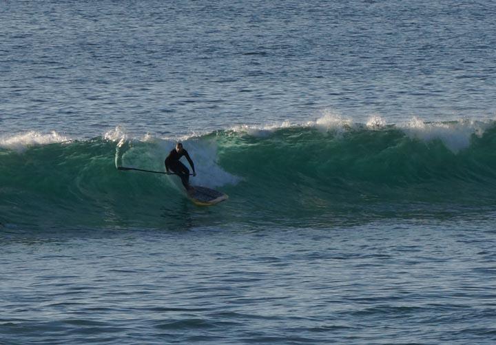 el-porto-paddleboarder-sunny-jan-afternoon