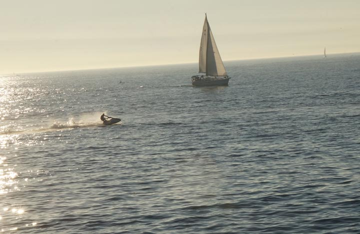 jet-skier-sailboat-redondo-harbor