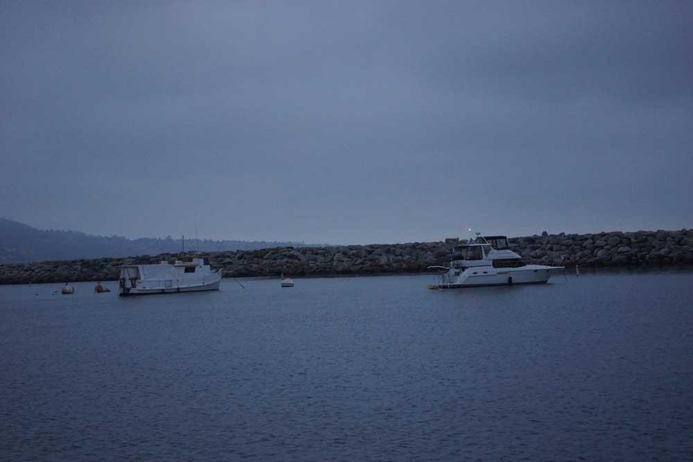 king-harbor-boats-redondo-cloudy-twilight