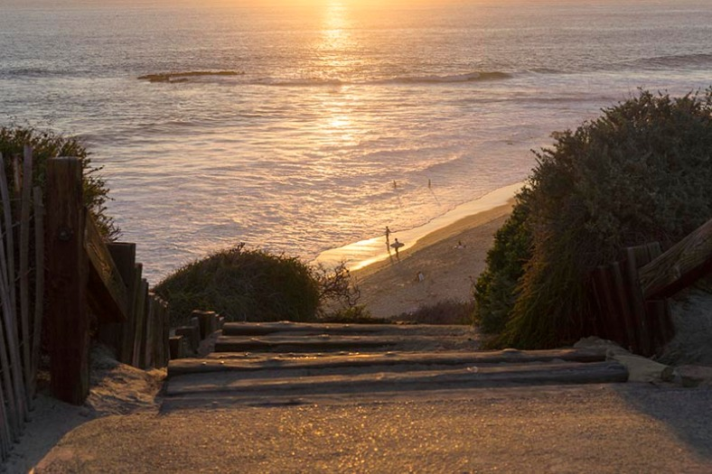 steps-leading-down-crystal-cove-near-sunset-oct